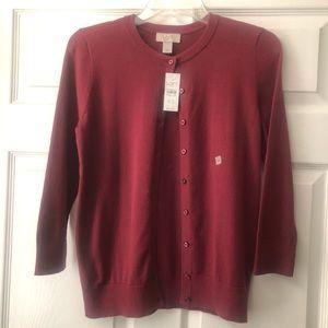 LOFT Cardigan Size XS